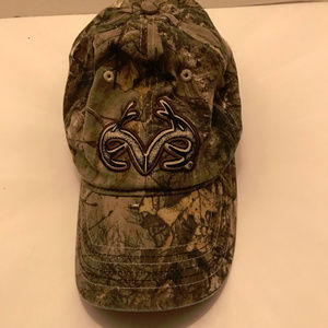 Real Tree Antler Camo Stretch Fit Hat OSFM